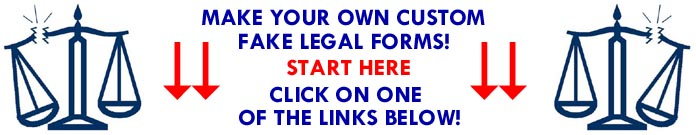 Fake Legal Form Generator Lawsuit Arrest Search Warrant Deportation - Fake legal document templates